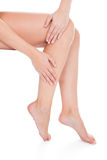 Woman With Beautiful Legs Royalty Free Stock Photo