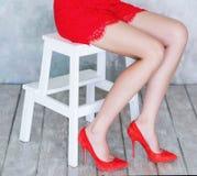 Woman beautiful legs Stock Image