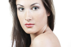 Woman with beautiful make-up Royalty Free Stock Photos