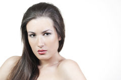 Woman with beautiful make-up Royalty Free Stock Image