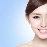 Woman beauty face Stock Photo