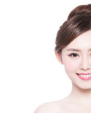 Woman beauty face Royalty Free Stock Photography