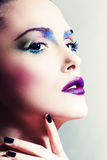 Woman beauty face Stock Images