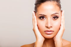 Woman beauty face Stock Photography