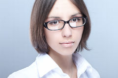 Woman beauty glasses Stock Image
