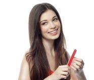Woman beauty hands Stock Photos
