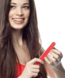 Woman beauty hands Royalty Free Stock Images