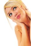 Woman beauty isolated Stock Photography
