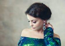 Woman beauty portrait royalty free stock photo
