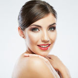 Woman beauty portrait. Stock Image