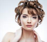 Woman beauty portrait Royalty Free Stock Image