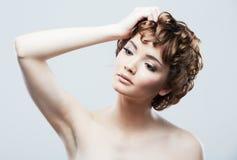 Woman beauty portrait Stock Photography
