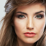 Woman beauty portrait. Royalty Free Stock Photos