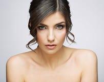 Woman beauty portrait. Royalty Free Stock Photo