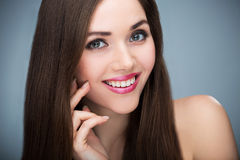 Woman beauty portrait Royalty Free Stock Photos