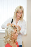 Woman in beauty salon Royalty Free Stock Image