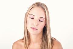 Woman beauty shot Stock Image