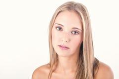 Woman beauty shot Royalty Free Stock Image