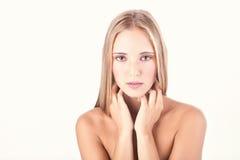 Woman beauty shot Stock Photos