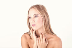 Woman beauty shot Royalty Free Stock Images