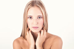 Woman beauty shot Royalty Free Stock Photo