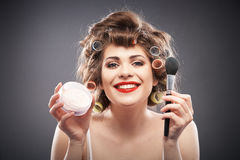 Woman beauty style portrait Stock Photo