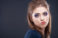 Woman beauty style portrait Stock Images