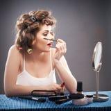 Woman beauty style portrait Stock Photos