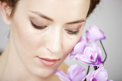 Woman in beauty style pose Stock Photography