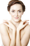 Woman in beauty style pose Royalty Free Stock Photo