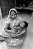Woman Beedi Worker Stock Photo