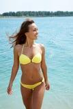 Woman in bikini Stock Photos