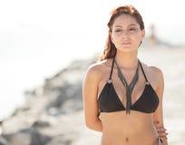 Woman in a bikini Royalty Free Stock Photography