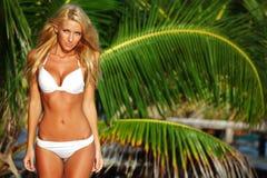 Woman in a bikini Royalty Free Stock Photo