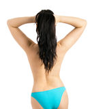 Woman in a bikini Royalty Free Stock Photography