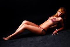 Woman in bikini Stock Photography