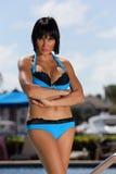 Woman in a bikini Stock Photos