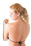 Woman in Bikini From the Back Royalty Free Stock Images
