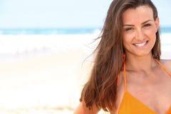 Woman in a bikini Stock Photography