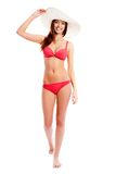 Woman in bikini Royalty Free Stock Image