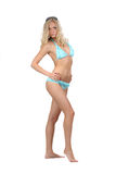 Woman in bikini poses Royalty Free Stock Photography