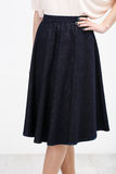 Woman in the black skirt Stock Photography