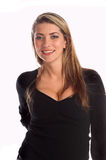 Woman in Black Top Royalty Free Stock Photography