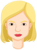 Woman with blond hair Royalty Free Stock Photos