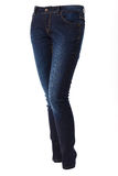 Woman in blue jeans Stock Photo