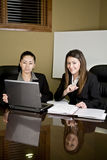 Woman in board room Royalty Free Stock Photography