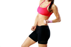 Woman body in good shape Royalty Free Stock Photos