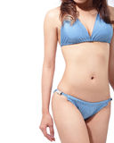 Woman body in sexy swimsuit Royalty Free Stock Photo