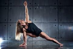 Woman bodybuilder Stock Photos