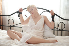 Woman bondage Royalty Free Stock Photo